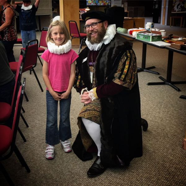 2017-Wyoming-State-Museum-Shakespeares-First-Folio-in-Wyoming-exhibit-Family-Days