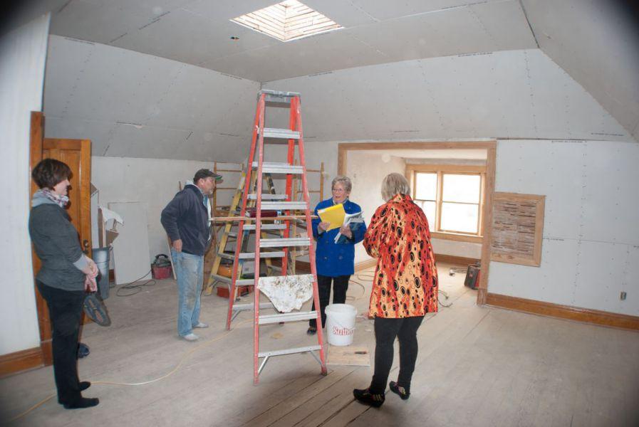 2017-Cadoma-Foundation-Bishop-House-Attic-During-Restoration