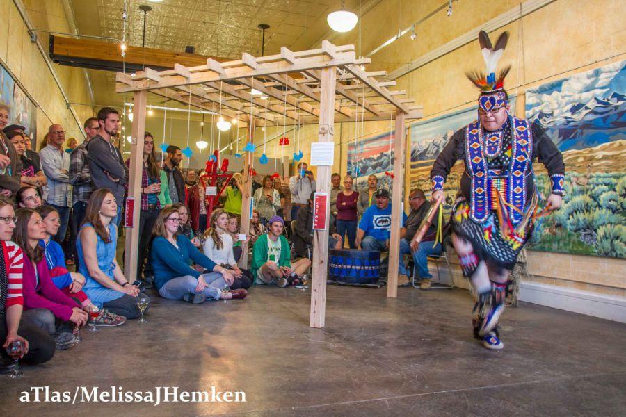2017-Lander-Art-Center-Thunder-Bird-Exhibit-and-Education-Outreach-Project